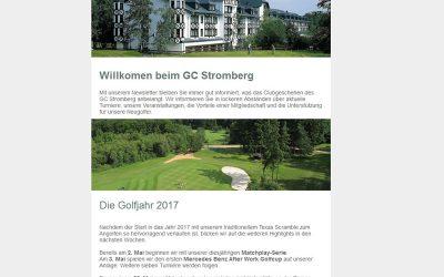 Newsletter GC-Stromberg